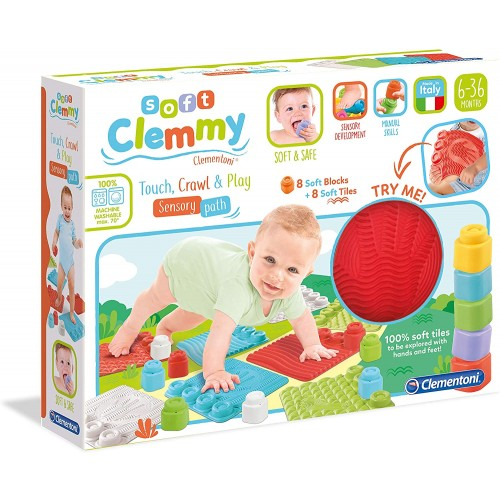 Soft Clemmy Touch, Crawl And Play Sensory Path