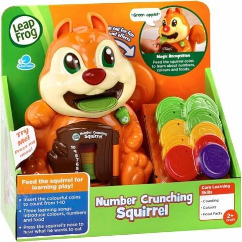 LeapFrog Number Crunching Squirrel