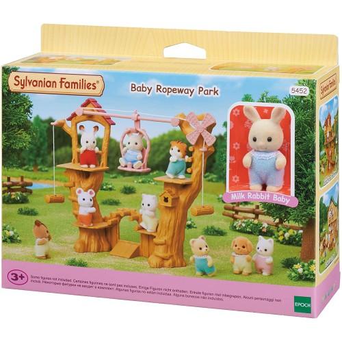Sylvanian Families Baby Ropeway Park Playset