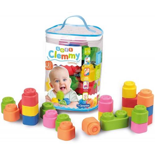 """Clemmy Baby"" Soft Blocks (48-Piece)"