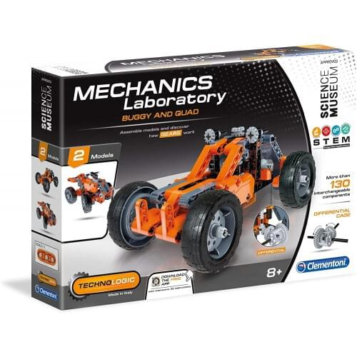Clementoni  Mechanics Lab Buggy and Quad Scientific Kit