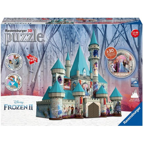 Ravensburger Disney Frozen 2 Castle 3D Jigsaw Puzzle for Adults and Kids 12 Years Up - 216 Pieces