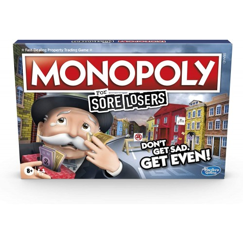 Hasbro - Monopoly For Sore Losers Board Game
