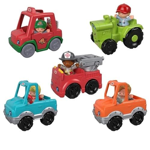 Fisher-Price LP Small Vehicle Asst