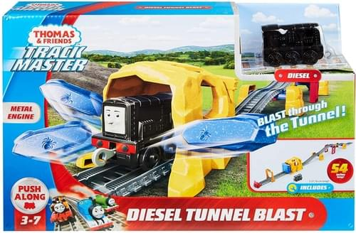 Thomas Push Along - Diesel Tunnel Blast Playset