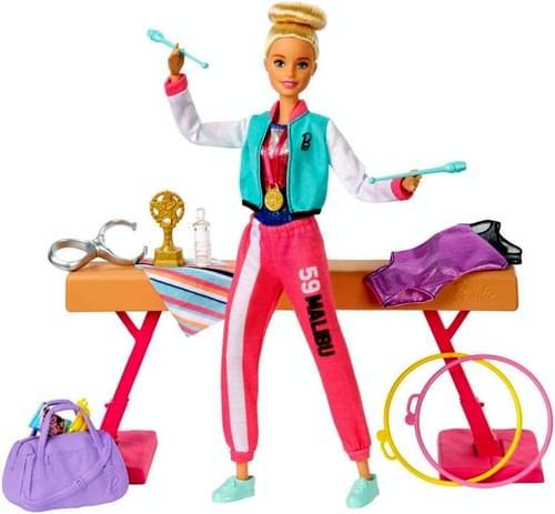 Barbie Gymnastics Play Set