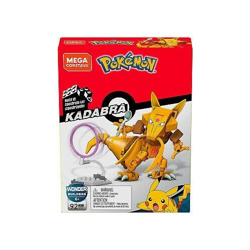 Pokemon Power Pack Kadabra PONYTA PONITA MEGA CONSTRUX ASSORTED