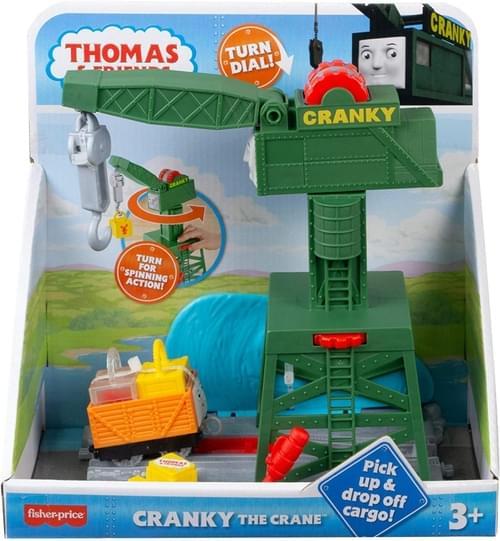Thomas Push Along - Cranky the Cranky  Play Set