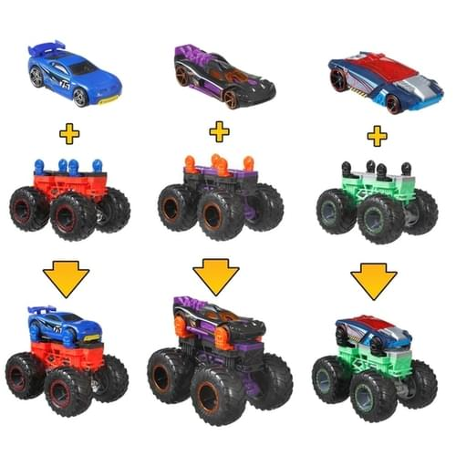 Hot Wheels MT Monster Maker  (Assorted, Styles Vary)