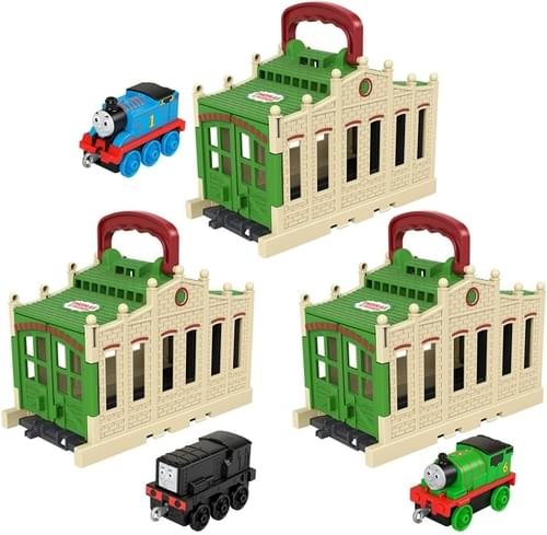 Thomas Push Along - Connect & Go Tidmouth Shed (Assorted, Styles Vary)