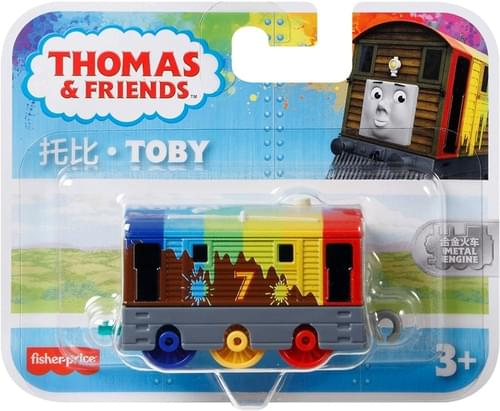 Thomas Small Push Along - Rainbow Toby