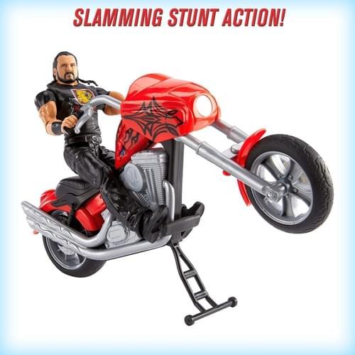 WWE Wrekkin Feature Motorbike