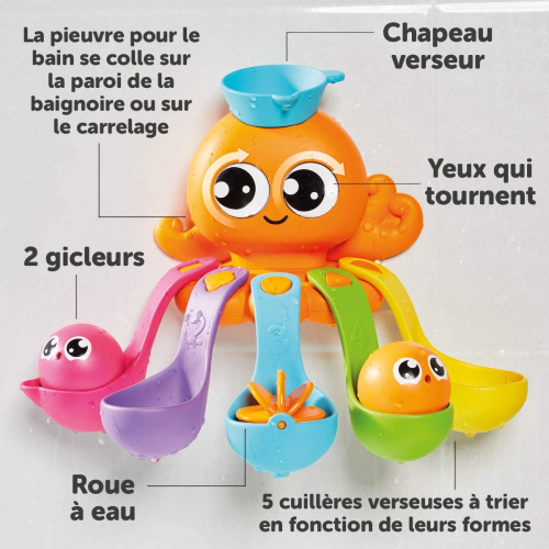 Toomies 7 in 1 Bath Activity Octopus