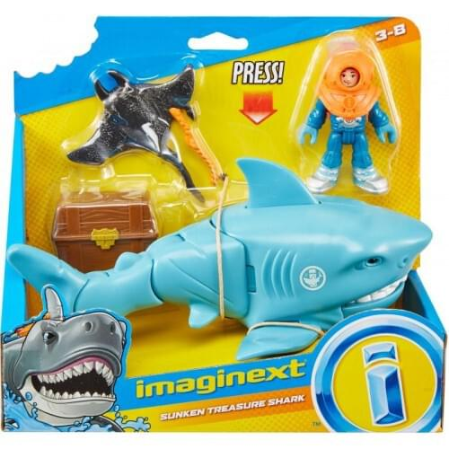 Imaginext Sharks & Vehicle Assorted SKU GKG78