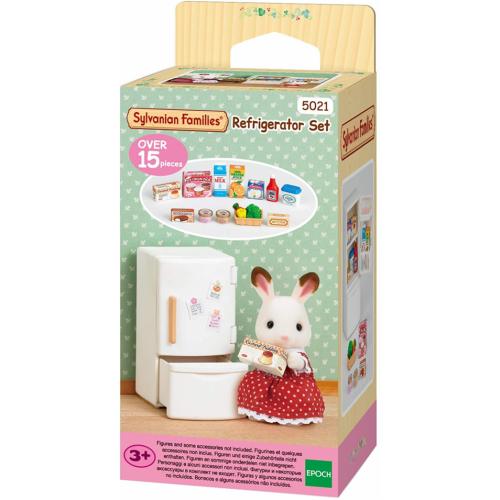 Sylvanian Families - Refrigerator Set - Mini-Doll