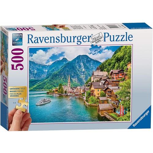 Ravensburger Hattstatt, Austria 500 Piece Jigsaw Puzzle with extra large pieces