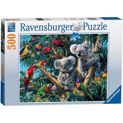 Koalas in a Tree 500pc Jigsaw Puzzle