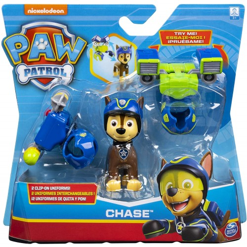 PAW PATROL Action Pack Pup with Sounds (Styles may Vary - One Pup Supplied)