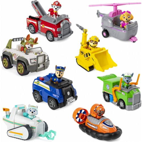 PAW Patrol - Vehicle with Collectible Figure, for Kids Aged 3 Years and Over