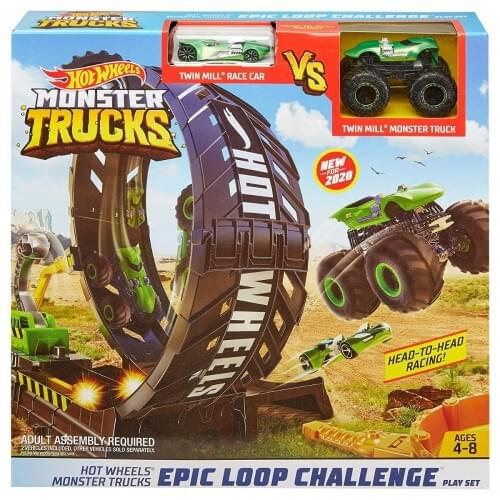 Hot Wheels Monster Trucks Epic Loop Challenge
