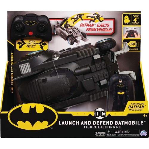 Batman Dcr Vhc Launch And Defend Batmobile