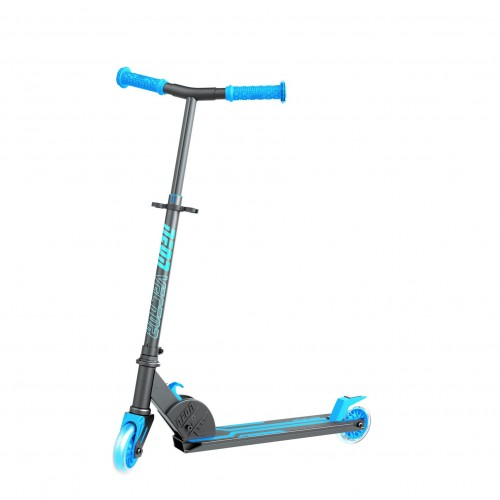 Neon Vector Blue Folding Scooter