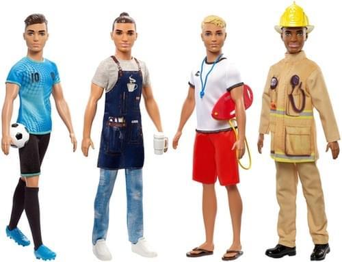 Barbie Ken Career Dolls Asst