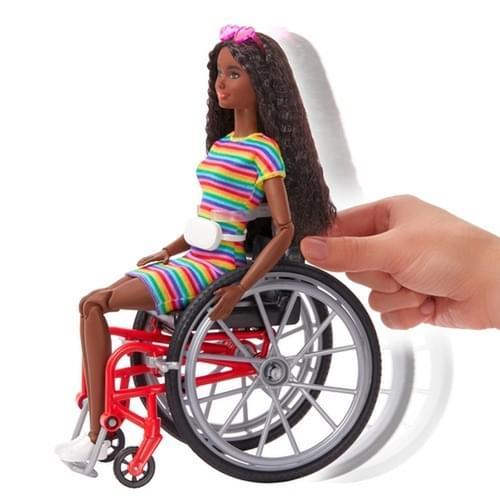 Barbie Wheelchair Doll Brunette