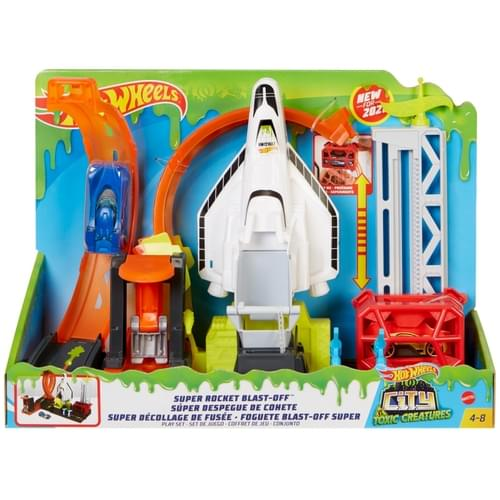 Hot Wheels City Super Space Shuttle