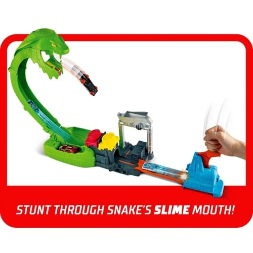 Hot Wheels City Toxic Snake Strike