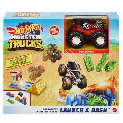 Hot Wheels MT Launch And Bash Play Set