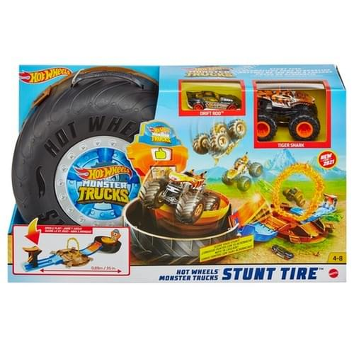 Hot Wheels MT Stunt Tyre Play Set