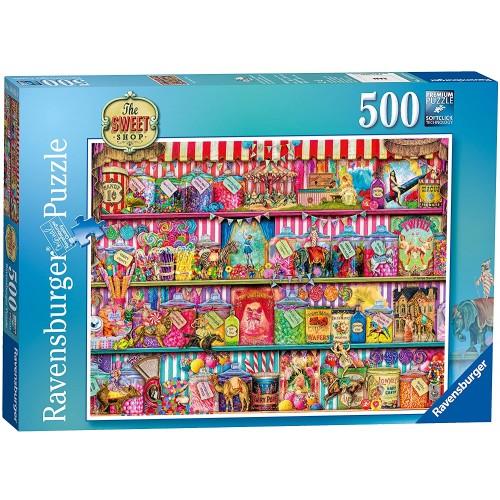 Ravensburger The Sweet Shop 500 Piece Jigsaw Puzzle