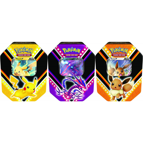 Pokemon POK80779-D6 TCG: V Powers Tin