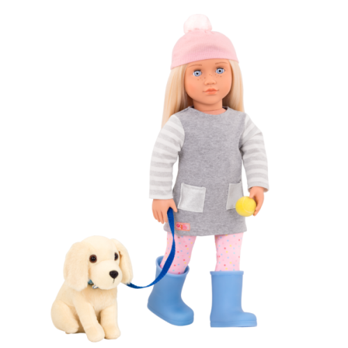Our Generation Meagan Doll with Pet