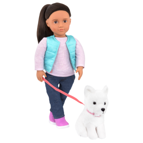 Our Generation Cassie Doll with Pet