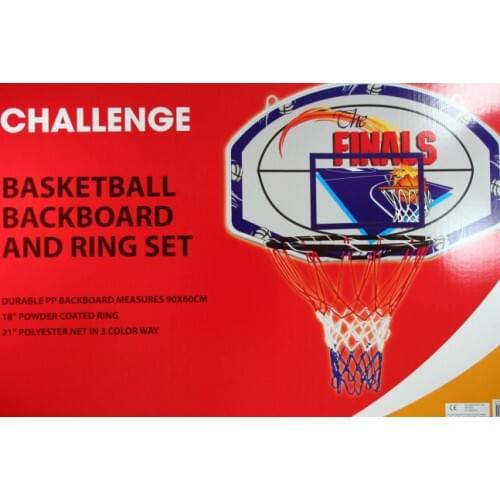 Challenge Basketball Backboard and Ring Set
