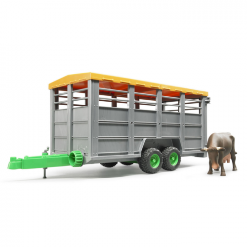 Livestock Trailer with Cow