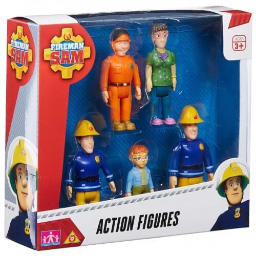 Fireman Sam Action Figures 5 PK