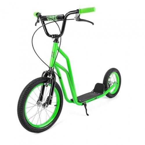 Xootz BMX Stunt Scooter for Kids, Ideal for Beginner and Intermediate Riders - Green