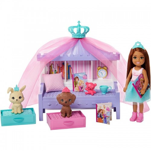 Barbie Princess Adventure Chelsea Princess Storytime Playset