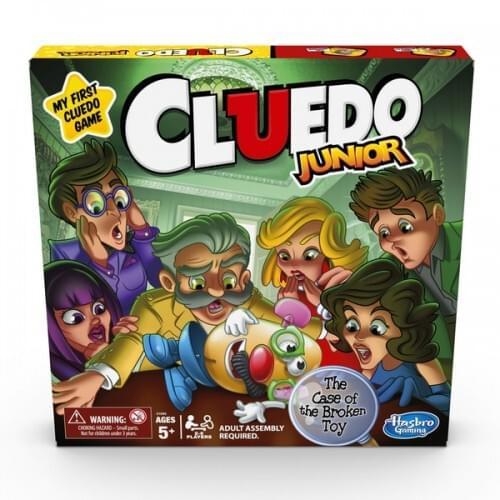 Cluedo Junior Game Assortment