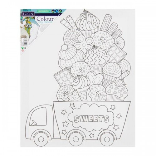 Colour My Canvas - Sweets
