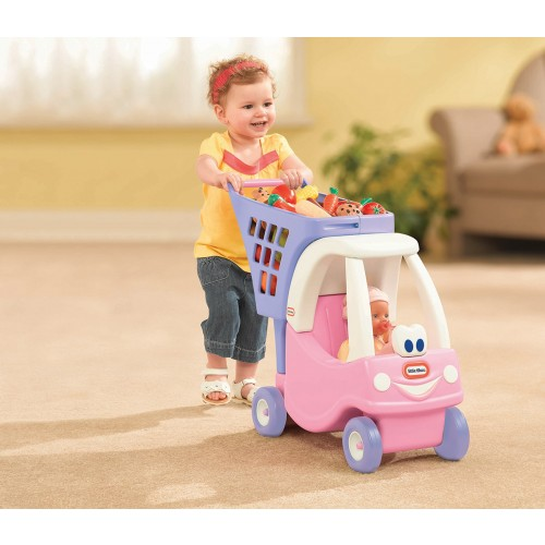 Princess Cozy Coupe shopping cart trolley