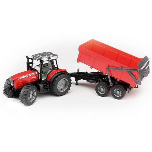Massey Ferguson 7480 Tractor & Trailer