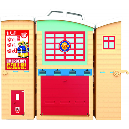 Fireman Sam Fire Rescue Centre Fire Station Playset