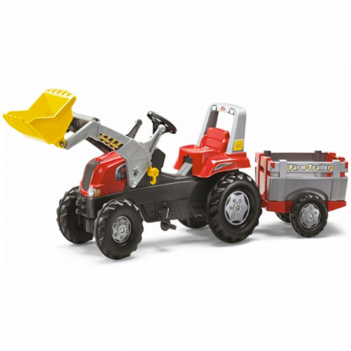 Rolly Toys Pedal  Junior Tractor, Trailer and Loader