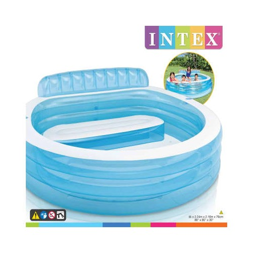 Intex Swim centre Vinyl Family lounge pool