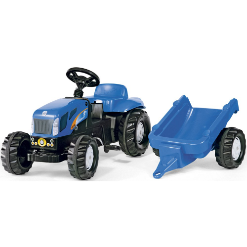Rolly Kid New Holland Tractor and Trailer