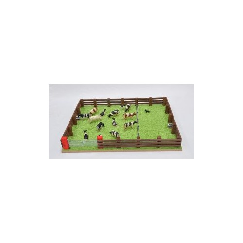 Millwood Crafts - GRASS FIELD AND FENCE